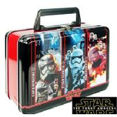 12 Units of DISNEY'S STAR WARS METAL LUNCH BOXES. - Cooler & Lunch Bags