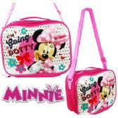 24 Units of DISNEY'S MINNIE MOUSE SOFT LUNCH BOXES. - Cooler & Lunch Bags