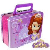 24 Units of DISNEY'S SOFIA THE 1ST LUNCH BOXES - Cooler & Lunch Bags