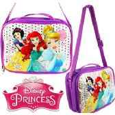 24 Units of ​DISNEY'S PRINCESS SOFT LUNCH BOXES. - Cooler & Lunch Bags
