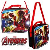 12 Units of MARVEL AVENGERS SOFT LUNCH BOXES - Cooler & Lunch Bags
