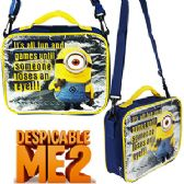 12 Units of DESPICABLE ME 2 LUNCH BOX - Cooler & Lunch Bags