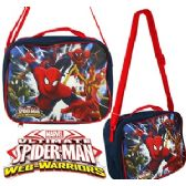 24 Units of MARVEL'S SPIDERMAN SOFT LUNCH BOXES - Cooler & Lunch Bags