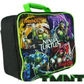 8 Units of TMNT SOFT LUNCH BOXES - Cooler & Lunch Bags