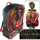 16 Units of STAR WARS LARGE CARGO BACKPACKS