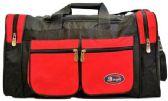 24 Units of 24 Inch Red Heavy Duty Duffel Bag - Duffel Bags