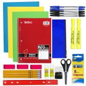 24 Units of 18 PIECE SCHOOL SUPPLY KIT - School Supply Kits