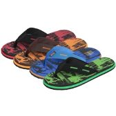 36 Units of Men's Foam Flip Flop
