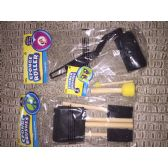 96 Units of Assortment of sponge brushes and rollers
