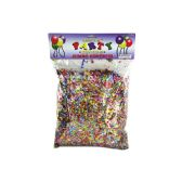 72 Units of Jumbo Metallic Confetti Pack - Streamers & Confetti