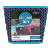 24 Units of Cloth Storage Bin with Handles - Storage Holders and Organizers