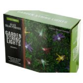 6 Units of Dragonfly Solar Powered LED String Lights - Lamps and Lanterns