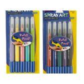 144 Units of Spray Art Airbrush Pen Refill Cartridges - Pens