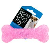 72 Units of Bone Dog Toy with Bell - Pet Toys
