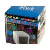 15 Units of LED Color Changing Digital Alarm Clock - Wall Decor