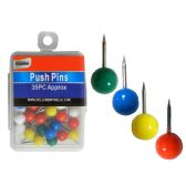 288 Units of Round Push Pins - Push Pins and Tacks