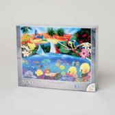 24 Units of Puzzle Deluxe 500pc Secret Lagoon *12.95* - PUZZLES