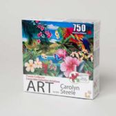 18 Units of Puzzle 750pc Parrot Island Collector Art Boxed *10.99* - PUZZLES