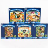 24 Units of Puzzle 100pc Animals 6 Asst Puzzle Size 8 X 10 - PUZZLES