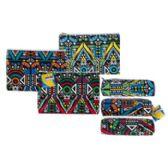 72 Units of Zipper Pouch 2ast Size Owl Desgn Sqr/rect Shape 3clrs/36pc Pdq/ - Pencil Boxes & Pouches