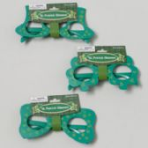 72 Units of St Patricks Novelty Glasses 3ast Styles/green Plastic St Pat Barbell Card - St. Patricks