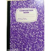 48 Units of Composition Notebook, 100 Sheets, Purple
