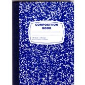 48 Units of Composition Notebook, 100 Sheets, Blue