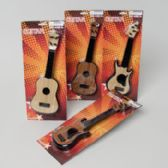 24 Units of Guitar Toy 4asst Styles 11inch - Costumes & Accessories
