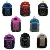 "24 Units of NORTHERN SPORT BACKPACK BUNGEE DESIGN - Backpacks 17"""