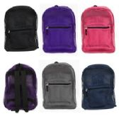 "24 Units of 17"" Mesh Backpack In Assorted Colors"