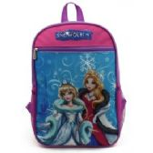 "24 Units of TOON STUDIO BACKPACKS IN SNOW QUEEN DESIGN - Backpacks 15"" or Less"