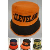 12 Units of Bucket Hat [CLEVELAND A] - Bucket Hats