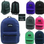 24 Units of ARCTIC STAR 17 INCH BACKPACK ASSORTED COLORS - Backpacks 17""