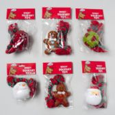 66 Units of Dog Toy Christmas Vinyl With Squeaker - Pet Toys