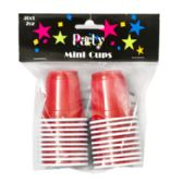 24 Units of 20 Count Mini Party Cups - Party Tableware