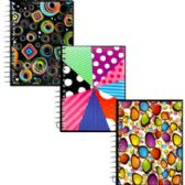 48 Units of Assorted Design Fat Book Notebooks - Notebooks
