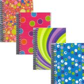 """48 Units of Fat Book, 5.5""""x4"""", 200 Sheets, - Retro Desings - Notebooks"""