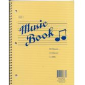 "48 Units of Music Notebook, 60 Pages, 11"" x 8.5"" - Notebooks"