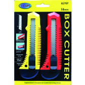 24 Units of Box Cutter 2pk - Boxes & Packing Supplies