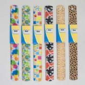 72 Units of Ruler Plastic 6ast Fashion Prnts 12in/30cm Ea W/wrap Card