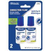 24 Units of 20ml / 0.7 fl. oz. Correction Fluid (2/Pack) - Correction Items