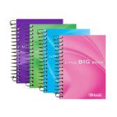"""48 Units of 180 Ct. 4"""" X 5.5"""" Premium Spiral Fat Book - Notebooks"""