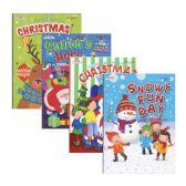 48 Units of KAPPA JUMBO Christmas Coloring & Activity Book - Coloring & Activity Books
