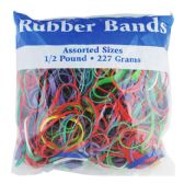 48 Units of Assorted Dimensions 227g/ 0.5 lbs. Rubber Bands - Rubber Bands