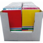 48 Units of Poly Memo Pads, 4pk. Assorted Colors in Display - Dry Erase