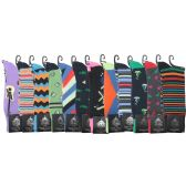 72 Units of Men's Single Pack Dress Socks - Mens Dress Sock