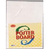 "72 Units of Poster Board, 11""x14, White, 5pk"