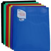 60 Units of 2 Pocket Snap In Folders - Folders and Report Covers