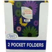 48 Units of 2 Pocket Poly Folder - Folders and Report Covers