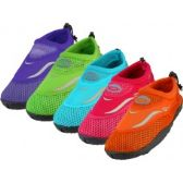 "36 Units of Girl's ""Wave"" Water Shoe - Kids Aqua Shoes"